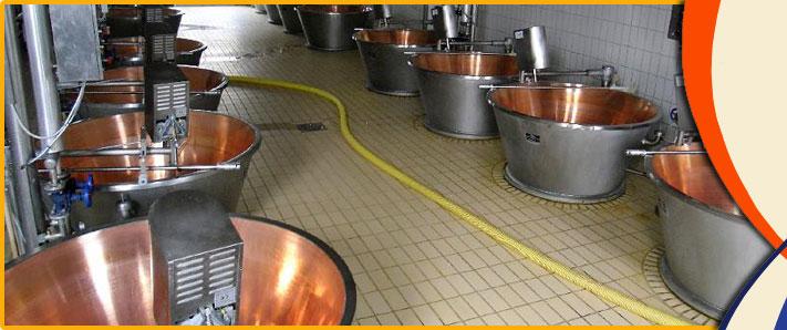 Attrezzature per caseifici realizzazione e installazione for Caldaie usate a metano